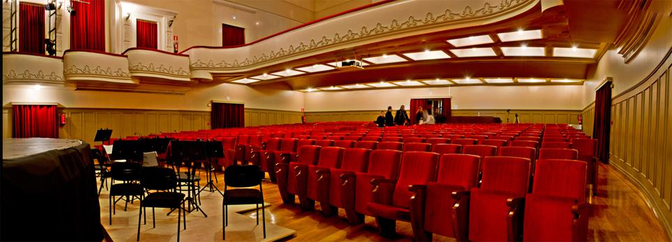 Muestra de teatro escolar. Sala Río Selmo
