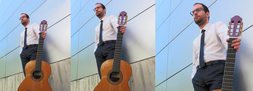 Concierto La sonata en la guitarra. Auditorio Conservatorio Cristóbal Halfter