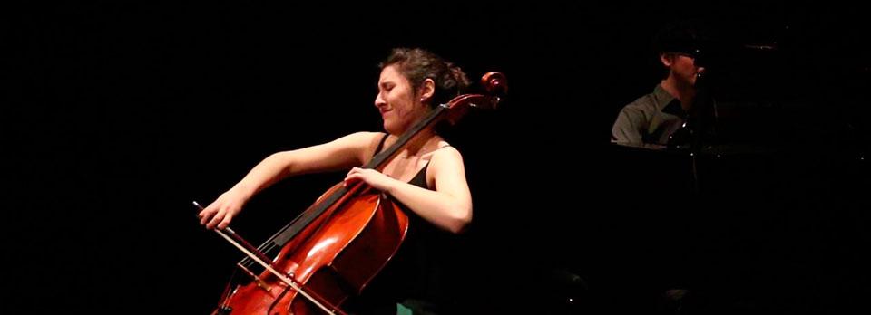 Montserrat Egea (violonchelo), Amaia Zipitria (piano)