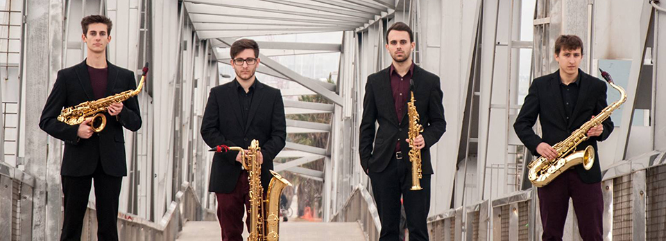 Kebyart Ensemble, cuarteto de saxofones