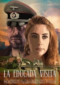 LA EDUCADA VISITA cartel